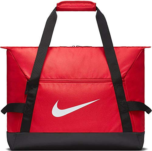 Nike NK ACDMY Team M DUFF Gym Duffel Bag, University red/Black/(White), MISC