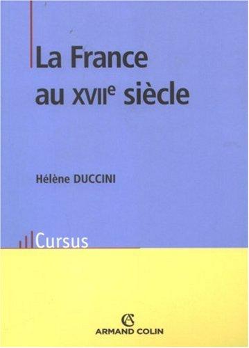 Histoire de la France au 17e siècle