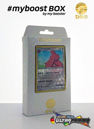 Box #myboost Schlurplek 103/156 - Sonne und Mond 5 Ultra Prisma - 10 Deutsch Karten - Karten-packs 5 Pokemon