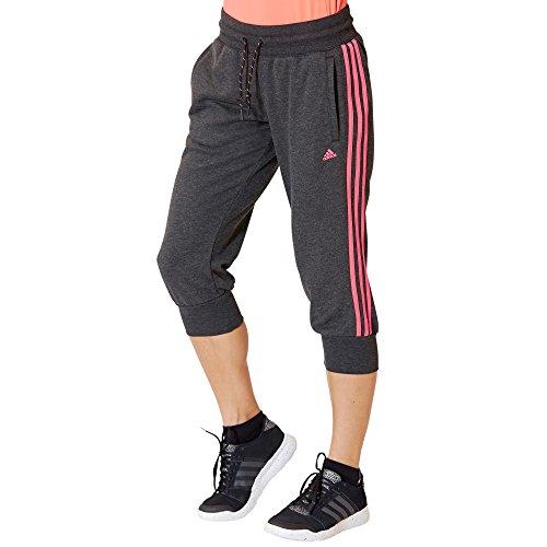 adidas Essentials 3-stripes Pantalon 3/4 Femme Noir - Noir/Rose