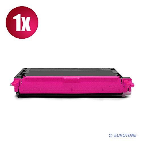 Preisvergleich Produktbild EOS-Toner für Phaser 6280 ersetzen Xerox rote Patronen Original EUROTONE ( ISO-Norm 19798 )