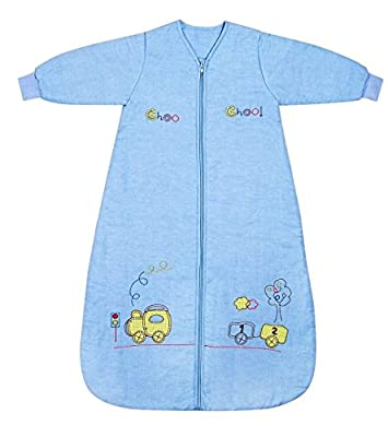 Saco de dormir Slumbersac con mangas - Varias tallas desde recien nacidos hasta 6 años