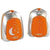 ANSMANN 5070073 Babyphone Barcelona Bassa Radiazione per Le Stazioni di Trasmissione Radio Ottimali con Luce Notturna