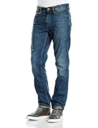 Timberland Mens Thompson Lake Denim Jeans In Blue Dusk