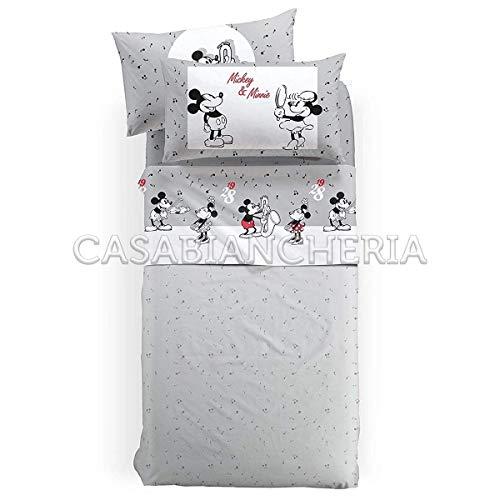 Completo lenzuola disney caleffi mickey fumetto-1 piazza e mezza