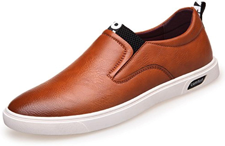 Zapatos De Cuero De Los Hombres Zapatos Deportivos De Los Deportes Al Aire Libre Zapatillas De Moda -