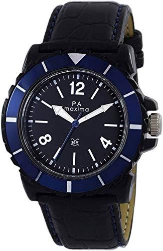 Maxima Analog Black Dial Men's Watch-O-45846LPGW