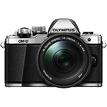 "Olympus E-M10 Mark-II - Cámara EVIL de 16.1 Mp (pantalla 3"", estabilizador óptico, vídeo Full HD, WiFi), color plata - kit con objetivo M.Zuiko Digital 14-150 IIR Sellado"
