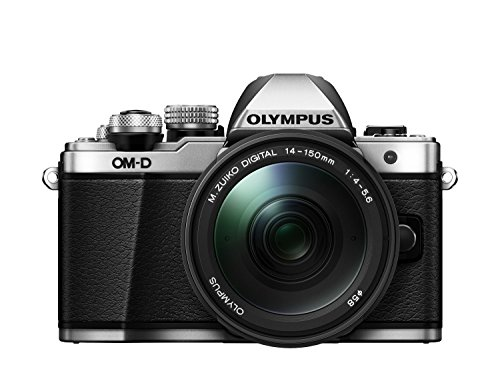 "Olympus E-M10 Mark-II - Cámara EVIL de 16.1 Mp (pantalla 3"", estabilizador óptico, vídeo Full HD, WiFi), color plata - kit con objetivo M.Zuiko Digital 14-150 IIR Sellado"