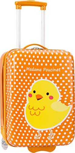 Rad-küken (Madisson Kids - Koffer Madisson Kids Küken 49 cm orange - AIC-P85118-orange, Orange (Orange) - N3063-ORANGE)