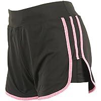 Vertvie Women's 2 In 1 Mesh Yoga Shorts Active Sport Shorts With Drawstring