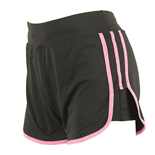 Vertvie Women's Summer Sports Yoga Short Pants Gym Workout Shorts (Activewear Shorts)