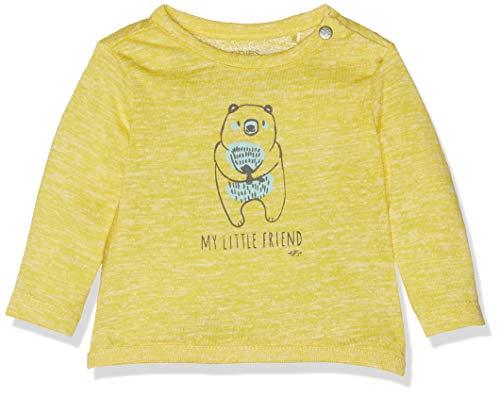 Noppies Unisex Baby T-Shirt U Tee ls Irri Parkland, Gelb (Canary Yellow P001), 74