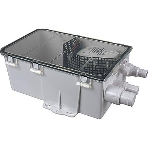 Seaflo 12V 600GPH para cárter de ducha sistema de bomba de caja Multi entrada Kit de drenaje automático sumergible bomba de agua