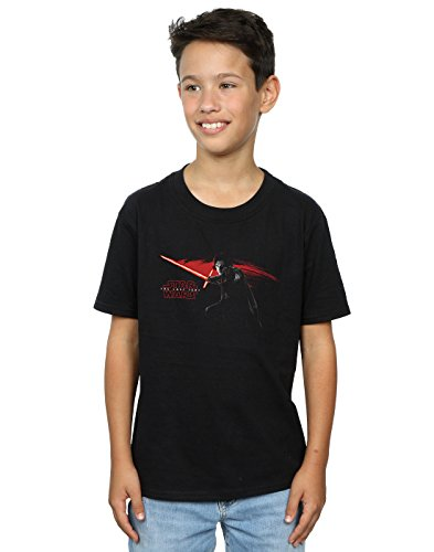 Star Wars niños The Last Jedi Kylo REN Hand Camiseta 5-6 Years Negro