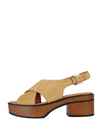 Vagabond Noor Natural Beige Sandal - Sandali Beige Pelle Scamosciata