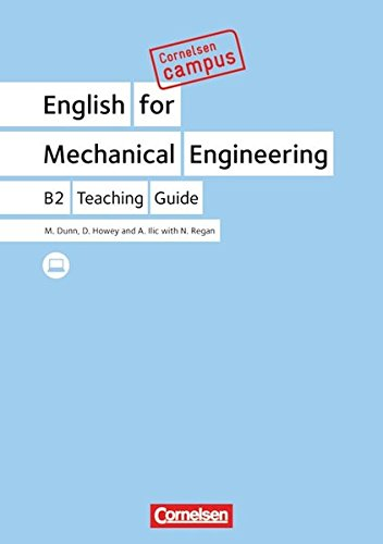 Cornelsen Campus - Englisch - English for Mechanical Engineering: B2 - Teaching Guide
