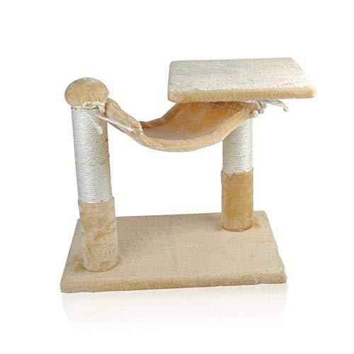 Weiwei sisal cat arrampicata mensola doppia albero gatto dei nido per dormire gioco dimensioni: 40 cm * 40 * 30 cm