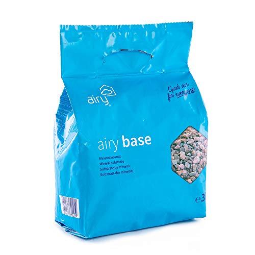 AIRY Base - Natürliches Mineralsubstrat für blühende u. grüne Topfpflanzen - Ideal zum patentierten Pflanzen-Topf (Speichern 2. Base)