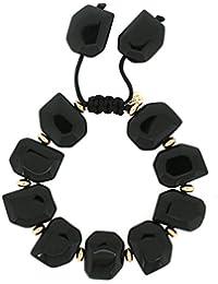 Lola Rose Tyler Bracelet Black Agate