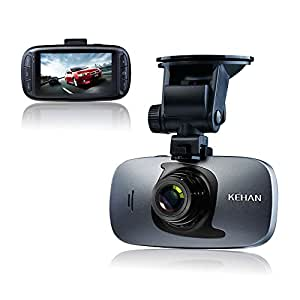 kehan c819n dashcam full hd 1080p gps cam ra de voiture embarqu e de 2 7 pouces enregistreur de. Black Bedroom Furniture Sets. Home Design Ideas