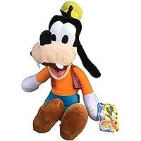 Disney–PTS Mickey Peluche Pippo 25cm, Color Blanco, 1
