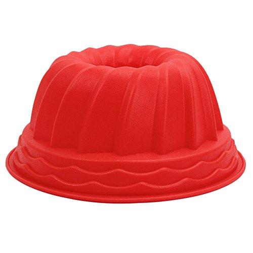 Merssavo Silikon Fondant Rollfondant Kuchen Bunt Bundt Pan Backformen Schimmel Brot Kuchen Gebäck Backen Form Cutter -