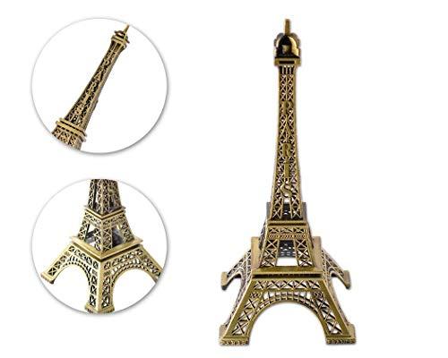 Modell Eiffelturm Metallische Statue Eiffelturm Figur für Souvenirs - 32cm ()