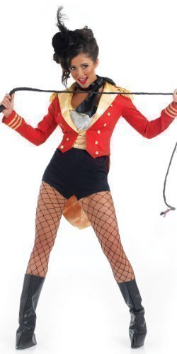 aster Circus Carnival Fancy Dress Costume Outfit 8-26 Plus Size (UK 20-22) (Ringmaster Kostüme Erwachsene)
