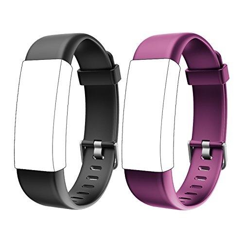 Lintelek Cinturino per Ricambio, TPE Sostituzione Braccialetto per ID130PLUS HR Fitness Activity Tracker