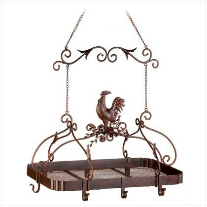 Malibu Creations 12657 Country Rooster Kitchen Rack by Malibu Creations