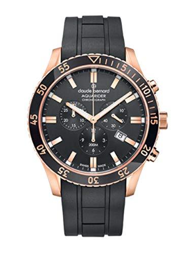 Claude Bernard by Edox Aquarider Men's Watch 10223.37RNCA.NIR Chronograph Swiss