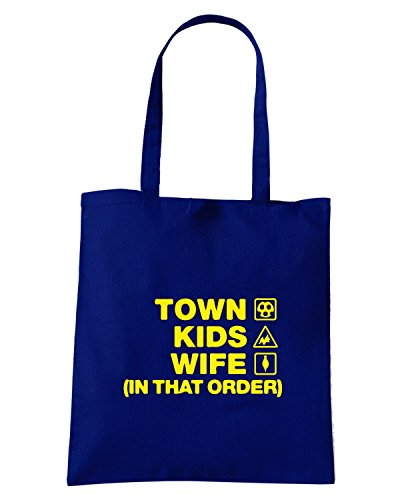 T-Shirtshock - Borsa Shopping WC1098 shrewsbury-town-kids-wife-order-tshirt design Blu Navy