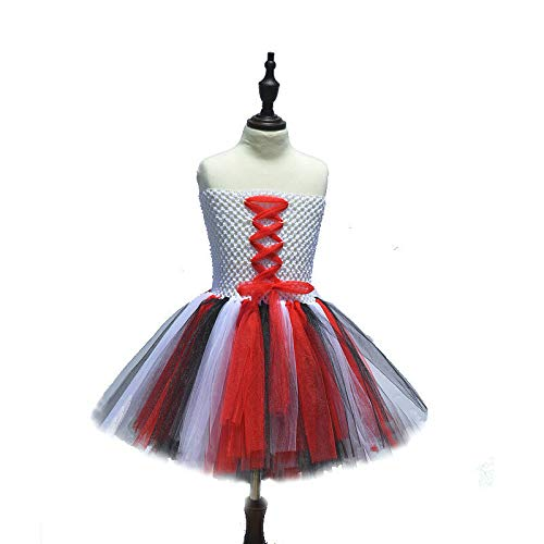 FidgetGear Kinder Cosplay-Kostüm Superhelden-Mädchen-Tutu-Kleid, klassisch, Halloween-Party, Pirat, (24M) UK