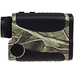 Golf Range Finder 1000 yards (914,4 m) - Eyoyo Télémètre Imperméable 6 x Golfscope Scope Jumelles Camouflage