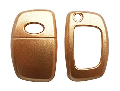 CK + Hyundai Coque laqué pour clé de voiture en plastique Key Cover Étui Étui ABS pour I20 I40 ix20 Tucson H1