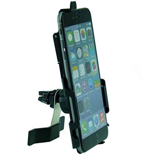 Buybits ULTIMATE Lüftungsschlitzhalterung Halterung mit TC Wiege für iPhone 6Plus 5,5