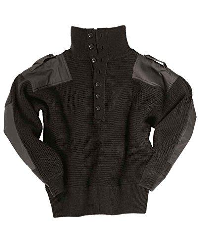 Oesterr.Alpin Pullover Wolle schwarz Gr.50 -