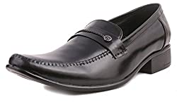 Guava Leather Formal Shoe - Black
