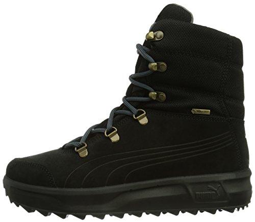 Puma Caminar Iii Gtx  Unisex Adults    Snow Boots  Black  Black-turbulence-bronze   12 UK  47 EU