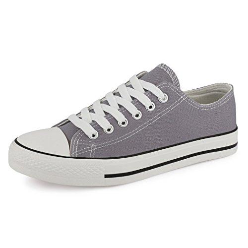 best-boots Damen Turnschuh Sneaker Retwin Slipper Grau 1360 Größe 36