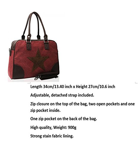 Leahward® Womens Canvas Tote Bags Mens Bambini Bambini Spalla Borse A4 160165 Diver