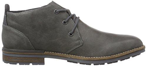 Rieker B1340, Desert boots homme Gris (Rauch/granit)