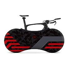 Velo Sock Unisex's Red Lines Bike Cover, Redline, One Size