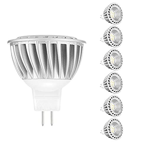 MR16 LED GU5.3 Ampoules 6W blanc chaud, ARVIDSSON Spotlight LED