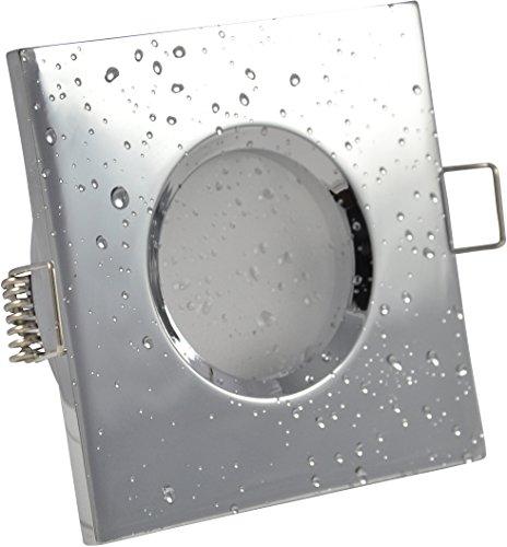Spot encastrable de salle IP65(étanche) avec ampoule LED 5W Blanc Chaud Ampoule économie d'énergie humides douche salle de bain