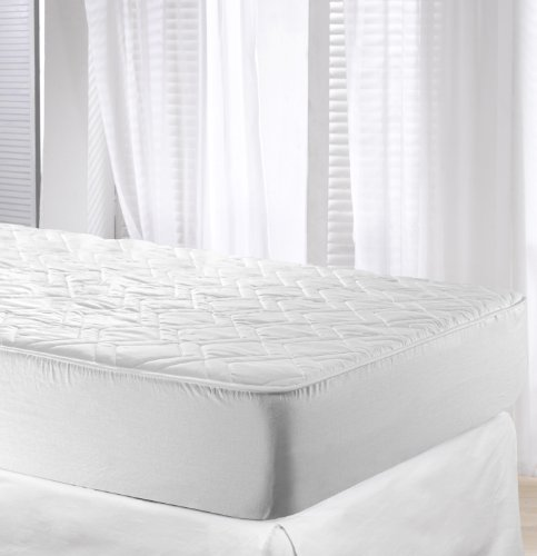 Velfont Cotton Reversible Quilted Mattress Protector, Single Size (90x190cm)