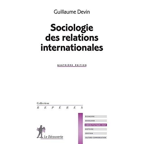 Sociologie des relations internationales