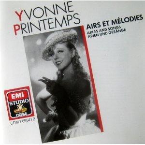 Yvonne Printemps - Airs et Mélodies