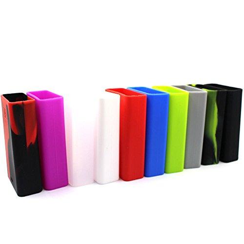 DIY-24H - Schutzhülle für Smok XCube 2 160W Akkuträger Silikon Case Silicone (Grün)